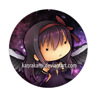 Devil Homura Pin Design by KanraKami