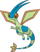 Shiny Flygon Global Link Art by TrainerParshen