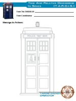TARDIS Stationery 1 by Carthoris