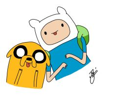 Adventure Time: Finn and Jake by AjNeverDies