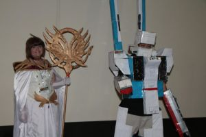 Anime Boston 2013 - Robotech Angel by VideoGameStupid