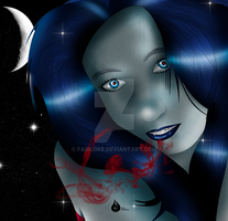 The real life: Marceline the Vampire Queen by Venetia-TH