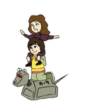 Doctor Who - Science Riders by PrincessHannah