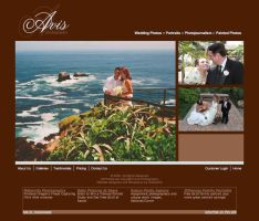 Avis Photography Live Site by cjgraphix
