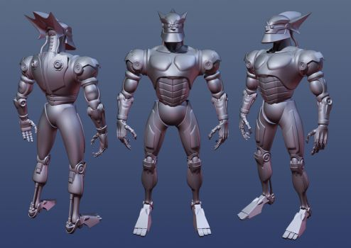 Megabyte Redesigned WIP by CC-5052