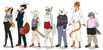 Character Lineup by Archeology