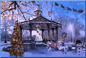 Mary Poppins Christmas Fun by WDWParksGal