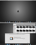 Linux-Hackintosh KDE Be::Shell with Bespin by CraazyT