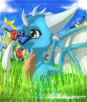 Blue Beauty - Recorded by GoldenTigerDragon