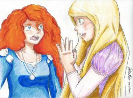 Locks of Hair: Maybe I Could Straighten You Hair by melofarce