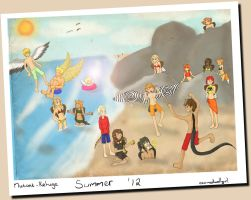 Summer of '12 by Ch4rm3d