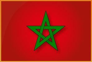 Morocco Flag by tariqelamine