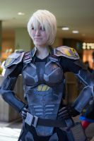 Sergeant Tamora Jean Calhoun from Wreck-It Ralph by BlueWolf3777