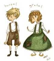 Hanzel and Gretel Designs by MaryAQuiteContrary