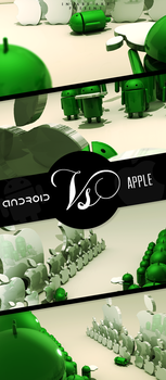 Android Vs Apple by ChrizLopz