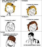 If You Know What I Mean  -Rage Comic- by Albowtross91