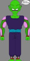 Barefoot Embarrassed Piccolo Jr. 4 by DragonBallFan2012