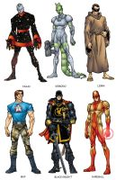 Avengers Handbook 3 Color by Uncle-Gus