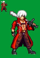 Dante in a new style by darkozkr331