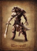 Werewolf Concept by AlanVadell