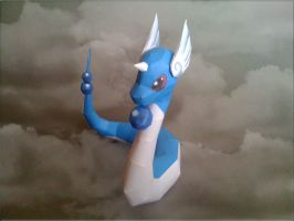 Dragonair Papercraft by Skele-kitty
