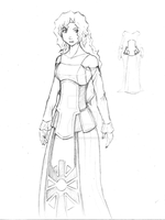 Design for the Lady in White by GreatTeacherKashi