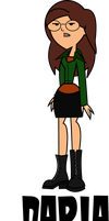 Daria Morgendorffer on Total Drama style by JaDraws