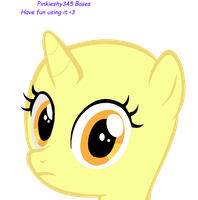 She stares in your soul -Pone Base- by Pinkieshy345