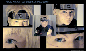 Video - Naruto Makeup Tutorial by TessaCrownster