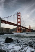Golden Gate 02 HDR by JoKeR0720