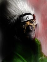 Kakashi's Loss # 2 by younesanimedrawing