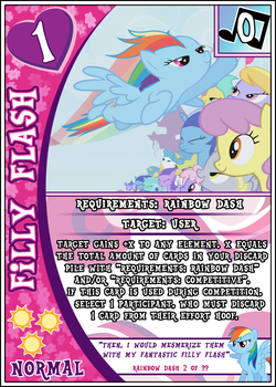 MLP:FiM Card Game: Filly Flash by PonyCardGame