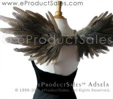 NEW NATURAL GUINEA Angel Wings by eProductSales