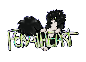 FeralHeart title thing by Nephels