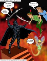 Disney buys Star Wars: Peter Pan Mash-Up by Nick-Perks