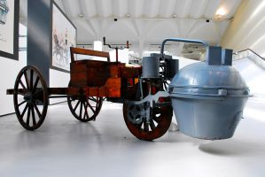 Cugnot's Steam Cart by GladiatorRomanus