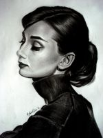 Audrey Hepburn III by OurLady-OfSorrows
