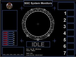 Sgc System Monitors by allanmie