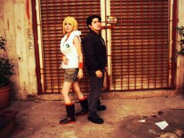 Silent Hill : Father and daughter by Nani-Dechuka