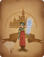 Disney steampunk: Pinocchio by MecaniqueFairy