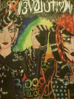 BOTDF Evolution drawing by Kona-chan19