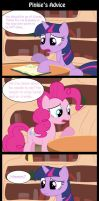 Pinkie's Advice by cipherpie