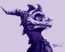 Spyro The Dragon by XTaeKwonDoDoX
