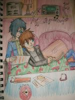 Ienzyde Christmas 2011 by Cats-Eye-93