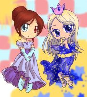 (Gift + NaPiDraMo)Princesses by bunnyb133