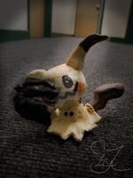 Mimikyu Polymer Clay by TheLittleThingy