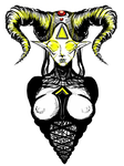 Horned God logo by Sabu-chan