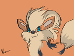 Arcanine by Mizz-Magic