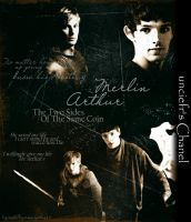Merlin Arthur BG by cynth90