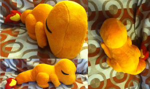 Sleepy Charmander Plush by Glacideas